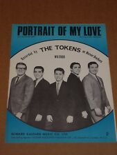 "Tokens ""Portrait Of My Love"" MINT sheet music"