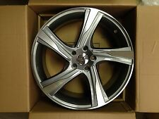 "4 x 18"" GUNMETAL & POLISH ALLOYS FIT 5/108 ET42 FORD FOCUS,MONDEO,VOLVO,LAGUNA"