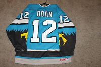 VTG 1997-98 Springfield Falcons Shane Doan Hockey Jersey AHL Size L CCM Coyotes