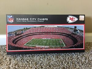MasterPieces NFL Panoramics 1000 Puzzles Collection - Kansas City Chiefs NFL ...