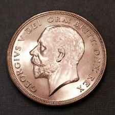 - 1927 Great Britain Silver Crown George V - Proof Only issue 15,000 Minted
