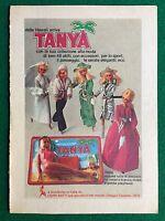 VV53 Pubblicità Advertising Clipping 19x13 cm (70s) TANYA BAMBOLA CEPPI RATTI