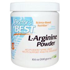 Doctor's Best L-Arginine Powder 300 g L ARGININE AAKG HCI NO NITRIC OXIDE XPLODE