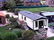 2 Axles Static Caravans with Central Heating