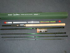 John Wilson Rovex 11' Avon quiver 5pc Travel fishing rod + Cordura Tube