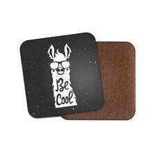 Be Cool Llama Coaster - Cute Funny Animal Lama Christmas Birthday Gift #19082