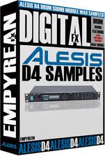 Alesis D4 Drums Sound Module WAV Samples Library CD-R