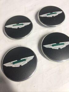 Aston Martin Centre Caps - Anthracite - V12 Vantage  - NEW