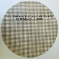 Grilling Mat Big Green Egg Kamado Large size BBQ Smoker Grill Surface Topper 18""