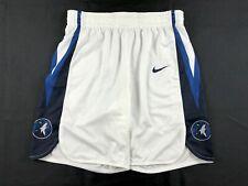 Minnesota Timberwolves Nike Shorts Men's White Dri-Fit Used Multiple Sizes