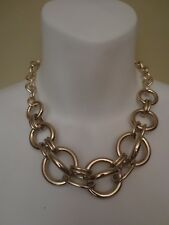 Banana Republic Glamour Double Link Focal Toggle Necklace NWT $98
