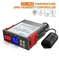 STC-3028 Digital Temperature Hygrometer Humidity Controller Thermostat N9F6