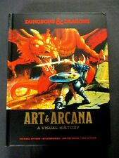Oej ~ D&D Dungeons and Dragons ~ Art & Arcana A Visual History ~ Hardcover