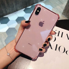 Transparent Shockproof Soft TPU Case Cover For iPhone 11 Pro Max 7 XR SE 2020 Xs