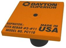 Dayton Superior PC110 OSHA #3 - #11 Rebar Caps (100 Pack)