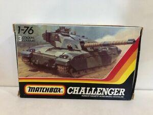 Matchbox PK-178 1:76 CHALLENGER.  British Main Battle Tank