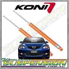 MAZDA 3 KONI STR.T Rear Shocks 2003 to 2008 Sport Shock Absorbers BK (Pair)