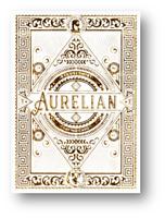 Blanco Aurelian Jugando a las Cartas By Ellusionist Póquer Juego de Cardistry