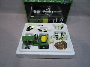 "John Deere ""Precision Lawn & Garden"" #2, Model 140 with Implements"