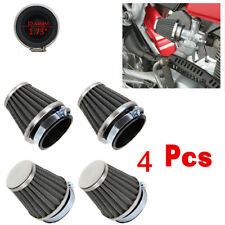 New 4pcs 44mm Air Filter Cleaner For Gy6 150cc ATV Quad 4 Wheeler Go Kart Buggy