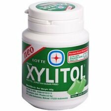 Lotte Xylitol Sugar Free Chewing Gum Lime Mint 61g. Candy Chocolate Food Home