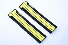 Orologi BRACCIALE rubber 21 mm per Tissot T-Race Nero Giallo t048417a nastro t048427a