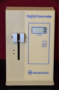 J & W Scientific Bubble Flow Digital Flowmeter