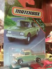 2018 Matchbox #14 '62 Nissan Junior PASTEL GREEN / DISC WHEEL / MINT