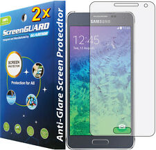 2x Anti-Glare Matte LCD Screen Protector Guard Samsung Galaxy Alpha SM-G850 S801