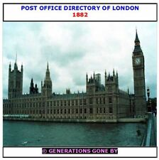 POST OFFICE DIRECTORY OF LONDON 1882 CD ROM