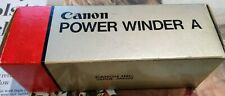 "Genuine Canon Power Winder ""A"" excellent used condition fully functioning BOXED"