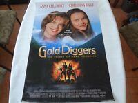 Gold Diggers Original One Sheet 27x40 Movie Theater Poster Christina Ricci