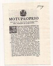 S844-GRANDUCATO DI TOSCANA 1753-APPALTO TABACCO ED ACQUAVITE