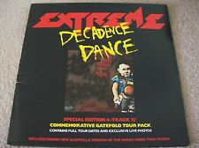 "EXTREME - DECADENCE DANCE 12"" SINGLE G/FOLD SLEEVE UK TOUR PACK EDITION (1991)"