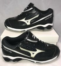 Mizuno Mens Size 12.5 Classic G6 9 Spike Wave Tech Metal Leather Baseball Cleats