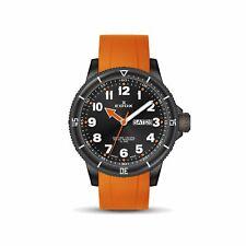 Edox 84300 37NOCA NOB Men's Chronorally S Black Quartz Watch