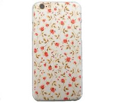 "RETRO CUTE SHABBY CHIC VINTAGE FLORAL COVER FOR IPHONE 6/6S 4.7"" HARD PHONE CASE"