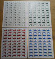 50 x Berlin 660 - 663 postfrisch Bogen Satz Kraftfahrzeuge Michel 225,00 € MNH