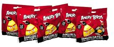 Angry Birds Phone Danglers / Keychain Mystery 5 Packs