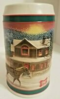 Vintage Miller High Life Holiday Christmas Beer Stein