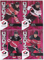 15-16 Team Canada Juniors Caroline Ouellette RED Hydro 2015 Upper Deck Women