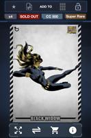 Topps Marvel Collect! Black Widow Cross Hatch GOLD SUPER RARE CC 500 | DIGITAL