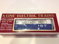 K-Line # K90005IC KCC Gondola with crates in the original shipping box!