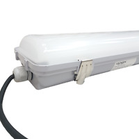 LED Non Corrosive Light Fitting IP65. 60Watt. Utility-Garage-Outdoor-Workshop