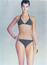BROOKE SHIELDS  SUPER SEXY BIKINI GLAMOUR PHOTO IN THE 1980S GREAT PHOTO