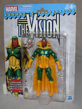 Marvel Legends Retro The Vision with Ultron Head Action Figure - NEW - Hasbro