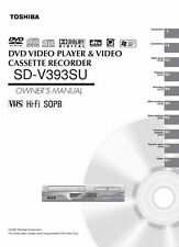 Toshiba SD-V393SU owners manual user operating instructions
