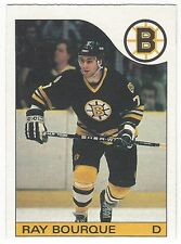 1985-86 OPC HOCKEY #40 RAY BOURQUE - EXCELLENT+