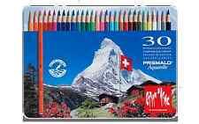 Caran d''Ache PRISMALO 30 Crayons coloré Aquarelle en Boîte Métal