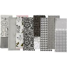80 Decoupage Paper Sheets Black/White Retro 35x25cm Papier Mache Cover Craft